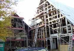 Renovierung Fachwerkhaus in der Wehmstraße