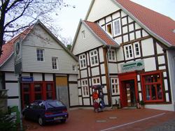 Renoviertes Fachwerkhaus in der Wehmstraße