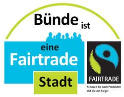 Logo Fairtrade-Stadt Bünde